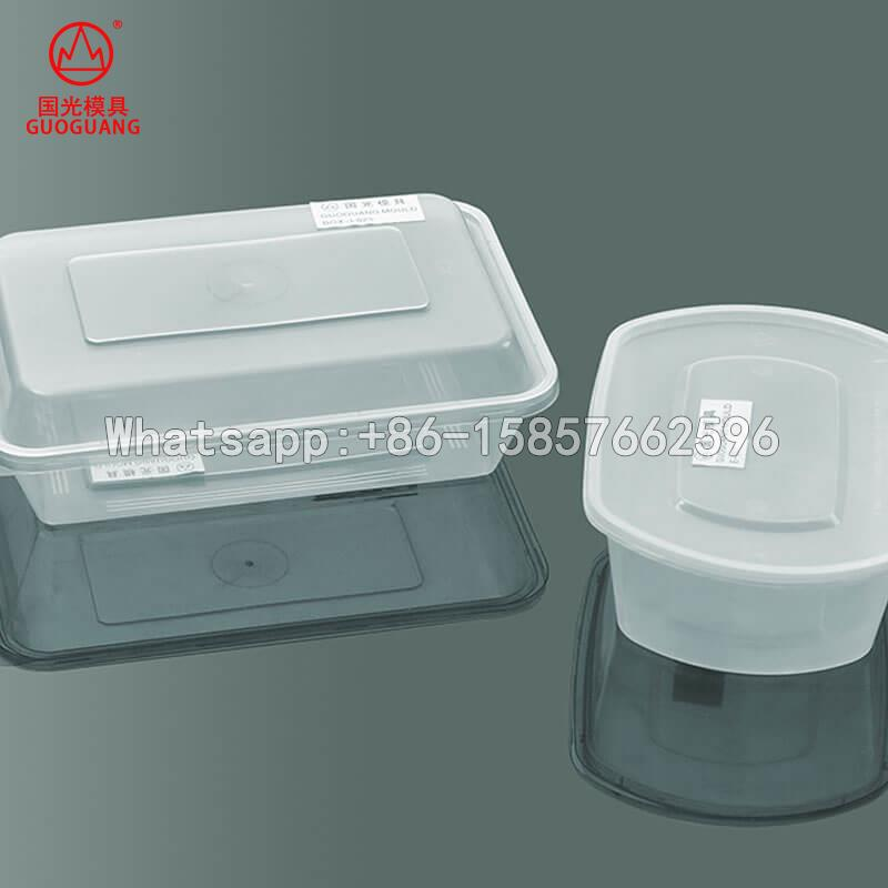 professional thin wall food container mould manufacture