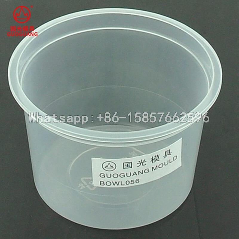 thin wall injection molding bowl