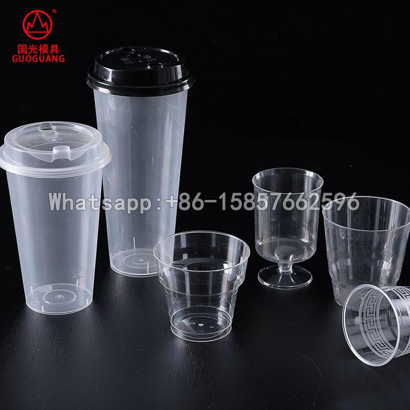 plastic Milk tea cup coffee cup