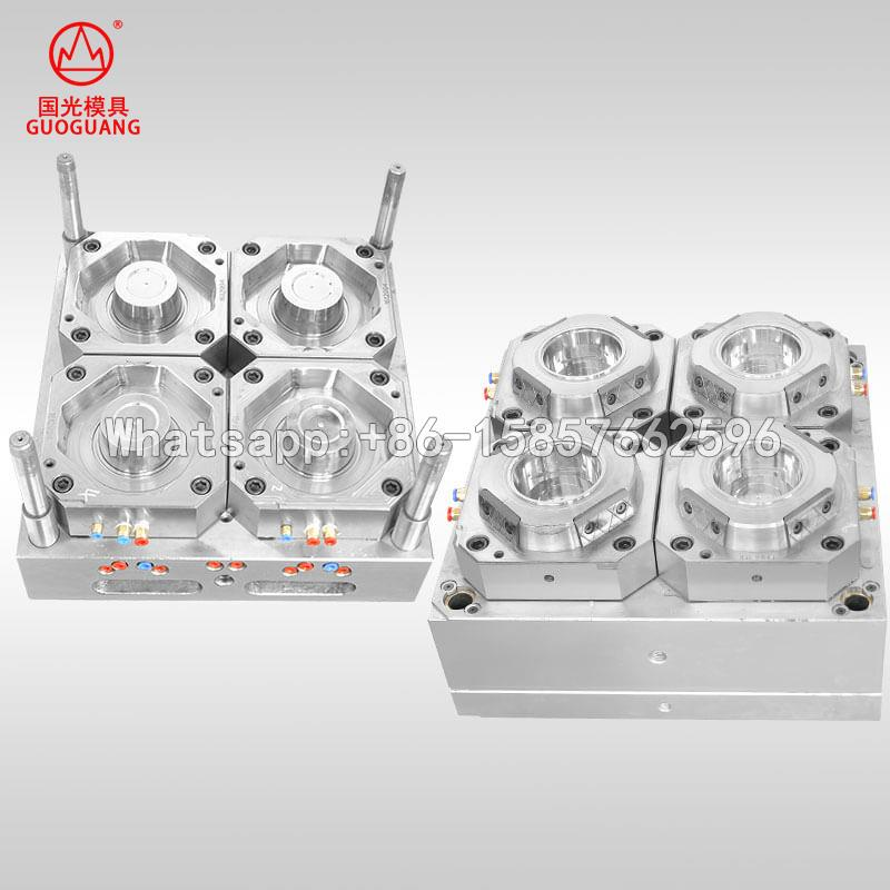 Plastic hot soup packaging box mould maker