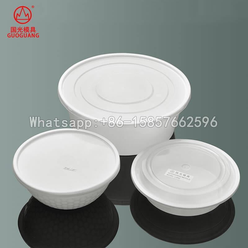microwave container hot soup food packaging box