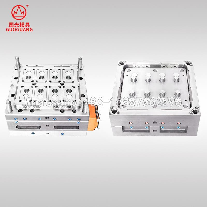 disposable hinged lid cup mould manufacture