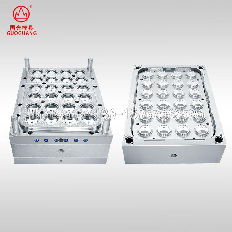 Milk tea cup cover mould
