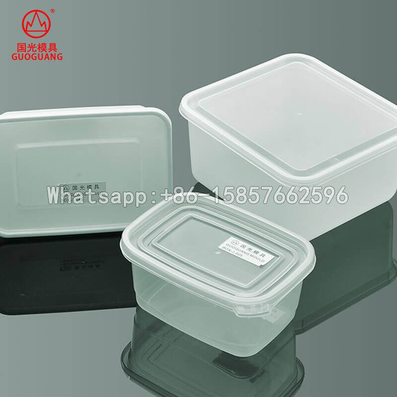 china plastic mould for food packaging
