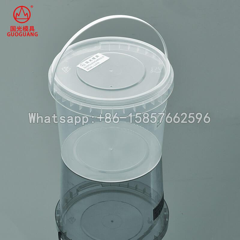 Thin wall tamper resistant package for food storage